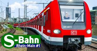 Train Simulator 2018: S-BAHN Rhein-Main #1 – Auf der S6 mit der S-BAHN BR 423 nach Frankfurt HBF!