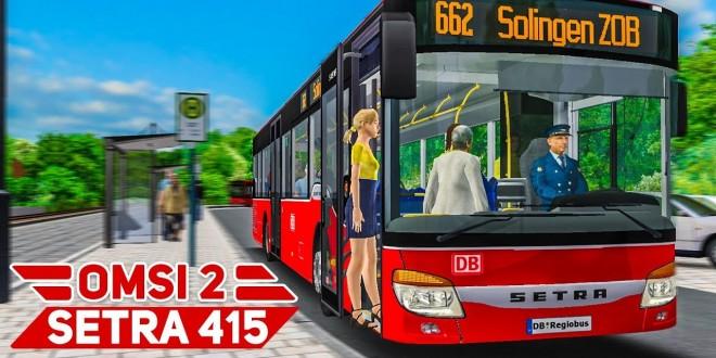 OMSI 2: Mit dem SETRA 415 NF unterwegs in Liestal V2 #1: Enge Kurven in Liestal! | BUS-SIMULATOR
