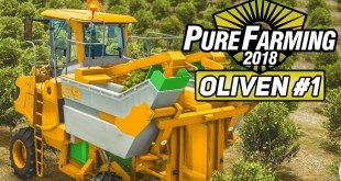 PURE FARMING 2018 #1: Olivenernte in Italien! | Preview der Landwirtschafts-Simulation deutsch