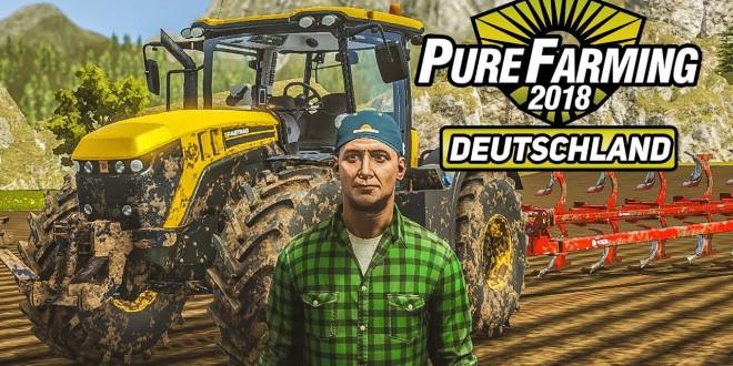 PURE FARMING 2018 #7: Der XXL-Pflug am JCP-Traktor! | Preview Gameplay deutsch