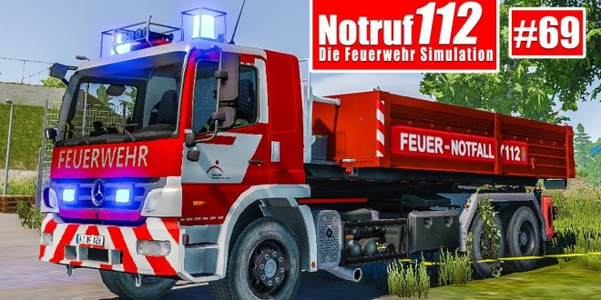 NOTRUF 112 #69: WLF-Einsatz mit Sandsäcken in AB-Mulde! I Feuerwehr-Simulation