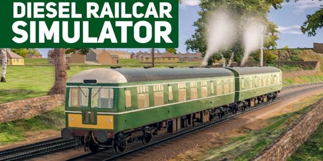 DIESEL RAILCAR SIMULATOR – der britische Zug-Simulator mit Class 112!