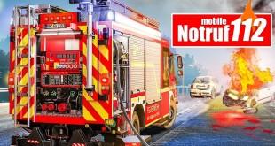 NOTRUF 112: Feuerwehr-Simulator als APP für iOS und Android angespielt!