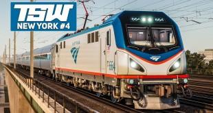 TSW: NORTHEAST Corridor NEW YORK #4: Direktzug nach New York Penn! | TRAIN SIM WORLD