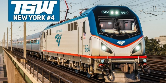 TSW: NORTHEAST Corridor NEW YORK #4: Direktzug nach New York Penn! | TRAIN SIM WORLD