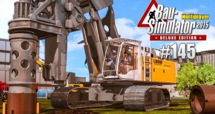 Bau-Simulator 2015 Multiplayer #145 – Vorarbeit fürs Windrad! CONSTRUCTION SIMULATOR Deluxe
