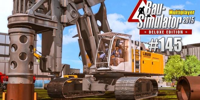 Bau-Simulator 2015 Multiplayer #145 – Vorarbeit fürs Windrad! CONSTRUCTION SIMULATOR Deluxe
