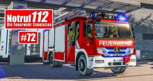 NOTRUF 112 #72: Mit Funk und LF24 zum Verkehrsunfall! I Feuerwehr-Simulation