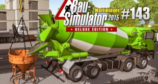 Bau-Simulator 2015 Multiplayer #143 – Das HAUS steht! CONSTRUCTION SIMULATOR Deluxe