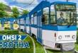 OMSI 2: Durch ROTHA mit der Straßenbahn Tatra KT4D als Doppeltraktion! | Bus-Simulator