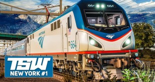 TSW: NORTHEAST Corridor NEW YORK #1: Mit der Amtrak ACS-64 durch New York! | TRAIN SIM WORLD deutsch