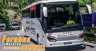 FERNBUS SIMULATOR Schweiz Österreich #77 – Flixtrain vs. Flixbus! FBS Platinum
