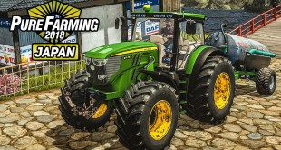 PURE FARMING 2018 #15: Mit dem John Deere in Japan! | Landwirtschafts Simulation Gameplay deutsch