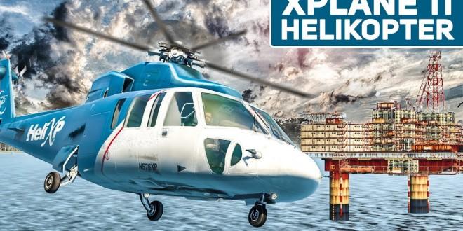 Gefährliche HELIKOPTER Landung auf BOHRINSEL!   XPLANE 11 #3 Flug-Simulator