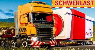 Spezialtransport: Mit schwerer Fracht und Begleitfahrzeug!   ETS 2 Special Transport DLC deutsch #10