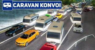 ETS 2: vorbeifahren an den 200 Wohnwagen! | Caravan Konvoi #4 im Euro Truck Simulator 2 deutsch