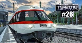 TS 2018: Der INTERCITY DB ET 403 – historischer Zug in Koblenz!   Train Simulator 2018 #26 deutsch