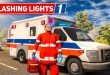 FLASHING LIGHTS #1: Unterwegs im RETTUNGSWAGEN! | Blaulicht Simulation deutsch