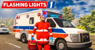 FLASHING LIGHTS #1: Unterwegs im RETTUNGSWAGEN! | Blaulicht Simulation deutsch
