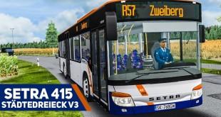 OMSI 2: SETRA 415 NF im STÄDTEDREIECK V3 #2: Pünktlich wie die Müllabfuhr!