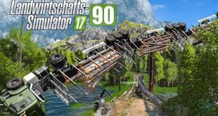 LS17 Forst #90 – Alles fliegt durch die Luft! I LANDWIRTSCHAFTS-SIMULATOR 17