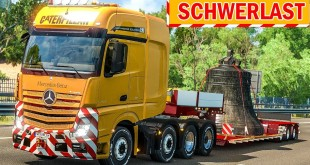 Spezialtransport: Schwere KIRCHENGLOCKE für Florenz!   ETS 2 Special Transport DLC deutsch #12