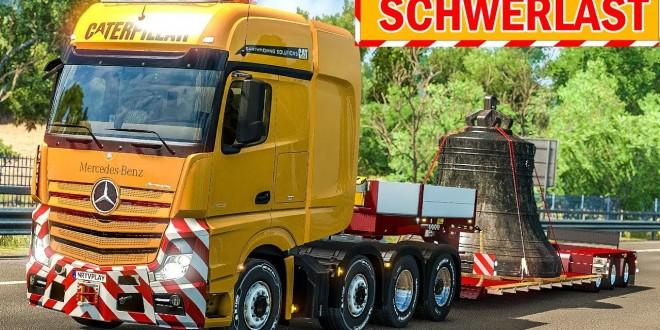 Spezialtransport: Schwere KIRCHENGLOCKE für Florenz! | ETS 2 Special Transport DLC deutsch #12