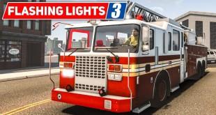 FLASHING LIGHTS #3: Die Hütte brennt – Einsatz für die FEUERWEHR! | Blaulicht Simulation Preview
