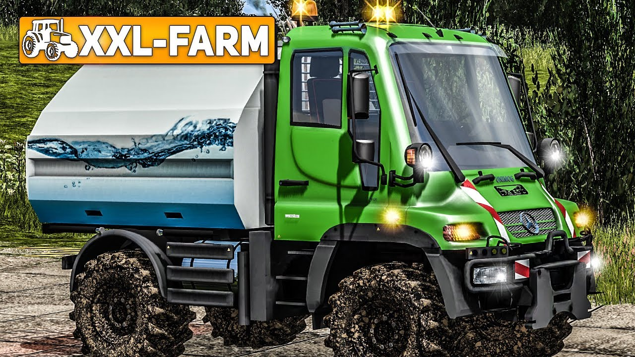 LS17 XXL-Farm: WASSER im Unimog für die Tiere! | LS17 Süd ...